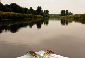fluisterboot, laarbrug,varen